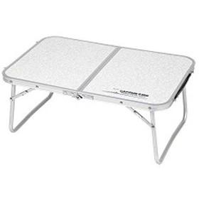 キャプテンスタッグ BBQ用 机 ラフォーレ アルミ 薄型 FD テーブル 60×40cmUC-514