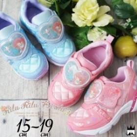 リルリル フェアリル 女の子 子供靴 キッズ ジュニア スニーカー RRF C001 RiluRilu Fairilu サンリオ Sanrio ベルクロ キッズシューズ