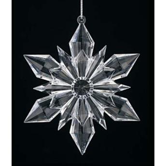 クリスマス 装飾 オーナメント 12cmクリスタルスノーフレーク [TOSN6141]