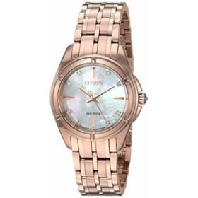 【当店1年保証】シチズンCitizen Women's 'Signature' Quartz Stainless Steel Dress Watch, Color:Rose