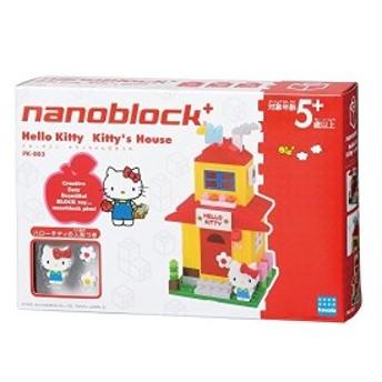 ナノブロックプラス ハローキティ キティちゃんのおうち PK-003