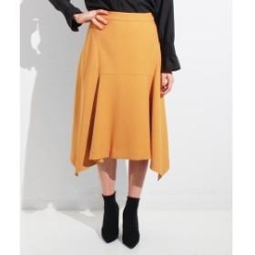 セッティミッシモ(Settimissimo)/ウールタッチフロント切替スカート