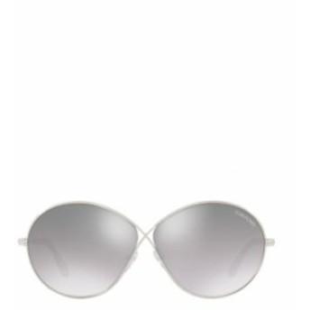 TOM FORD レディース サングラス 送料無料 Silver Rania Oval Sunglasses