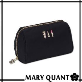 マリークワント MARY QUANT(マリクワ)(マリークアント) バッグ 3COSMETICS2 オーバルポーチ(ブラック)