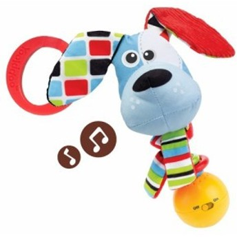Yookidoo(ユーキッド) 音楽隊ラトル わんわん(1コ入)[ベビー玩具・赤ちゃんおもちゃ その他]