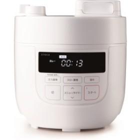 siroca SP-D131-W ホワイト クックマイスター [電気圧力鍋 (スロー調理機能付き)]