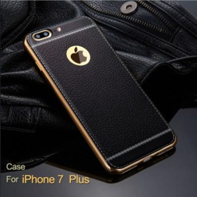 iPhone7 Plus ケース/カバー クリア TPU 耐衝撃 PUレザー シンプル アイフォン7プラス レザーケース/カバー おすすめ おしゃれ スマフォ