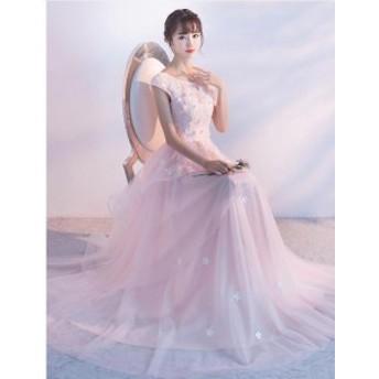 大きいサイズ 可愛い お呼ばれ 花嫁 発表会 演奏会 忘年会 袖なし ウェディングドレス ロングドレス パーティードレス 結婚式