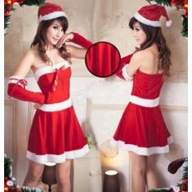 クリスマス衣装 サンタクロース コスプレ クリスマス サンタコス コスチューム セクシー パーティー 変装 仮装 レディース X'mas