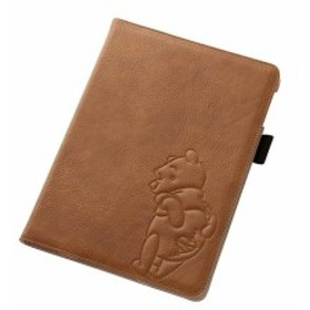 iPad Air 2 用 ディズニー ポップアップ レザージャケット (合皮タイプ) プー アイパッド ケース
