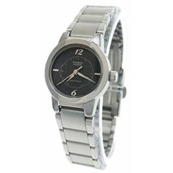 【当店1年保証】カシオCasio Women's LTP1230D-1C Stainless-Steel Quartz Watch with Black Dial
