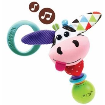 Yookidoo(ユーキッド) 音楽隊ラトル もーもー(1コ入)[ベビー玩具・赤ちゃんおもちゃ その他]