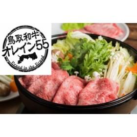 【祝!日本一】鳥取和牛オレイン55 ロース300g  赤身すき焼き(しゃぶしゃぶ)用スライス300g