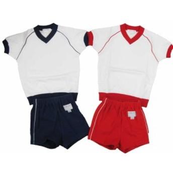 体操服上下 セット わいわいクラブ スポーツウェア 体操着 半袖シャツ ショートパンツ105cm~120cm