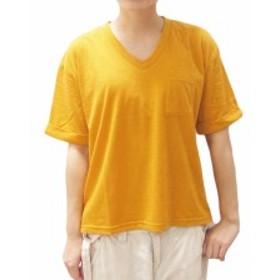 サニーデイジー:【レディース】ポケット Tシャツ【Sunny Daisy カジュアル 半袖 シャツ】【母の日】