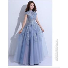 お呼ばれドレス人気新品披露宴 パーティドレス 大きいサイズ 二次会ドレス 結婚式 ドレス  Aライン  20代 30代 40代 卒業式