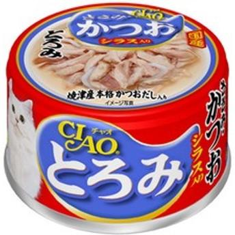 【いなばペット】チャオとろみ ささみ・かつお シラス入り 80g