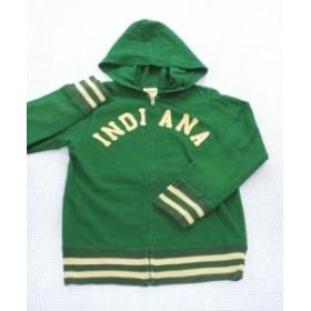 デニムアンドダンガリー DENIM&DUNGAREE パーカー ジップアップ 120cm 緑系 アウター 男の子 キッズ ジュニア 子供服 通販 買い取り