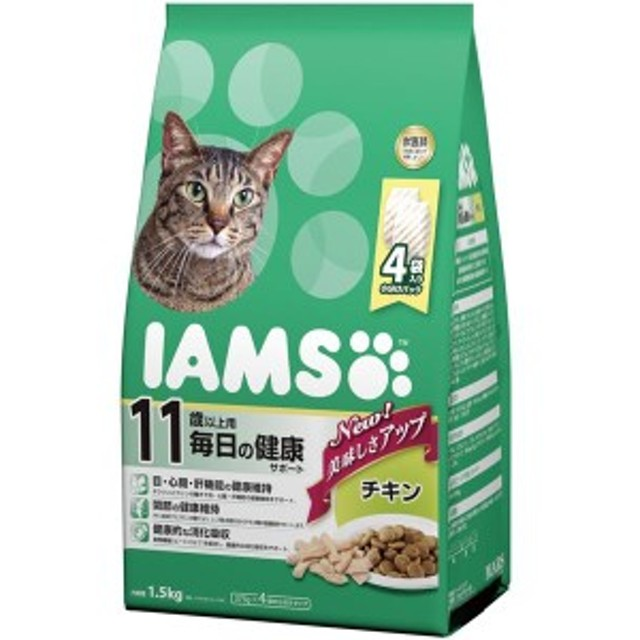 マースジャパンリミテッド アイムス 11歳猫チキン1.5kg [ペット用品]