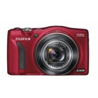 【中古 保証付 送料無料】FUJIFILM デジタルカメラ FinePix F770EXR レッド 1600万画素 EXR-CMOS 広角24mm光学20倍 F FX-F770EXR R
