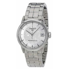 【当店1年保証】ティソTissot Women's Swiss-Automatic Watch with Stainless-Steel Strap, Silver, 22 (