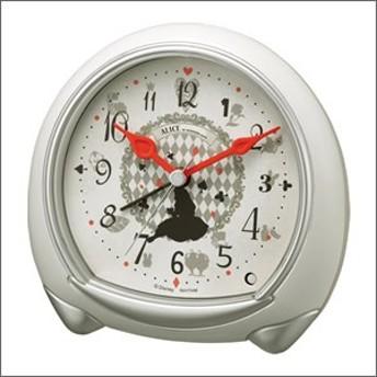 RHYTHM リズム時計 クロック 8RE664MC38 目覚まし時計 ディズニー