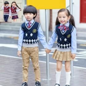 4点セット 卒業式 スーツ キッズスーツ ジュニアスーツ 子供 小学生 卒園式 フォーマルスーツ 女の子 男の子 通学制服 子供服