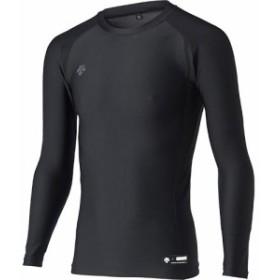 デサント(DESCENTE) 長袖 リラックスフィットシャツ STD-667 BLK/ブラック 【野球 ベースボール トップス アンダーシャツ】