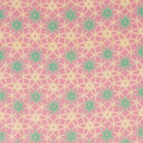 【ゆうパケット送料無料!】【手ぬぐい:和柄】和布華-わふか- 和柄手ぬぐい『手毬花(てまりばな)ピンク』
