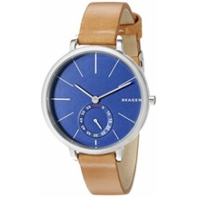 【当店1年保証】スカーゲンSkagen Women's SKW2355 Hagen Light Brown Leather Watch