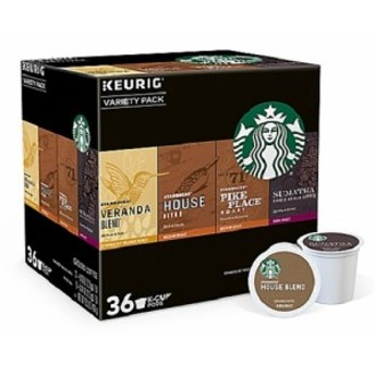 【新登場】スターバックス バラエティパック コーヒー Kカップ 36個入 /Starbucks Variety Pack Coffee K-CUP 36ct