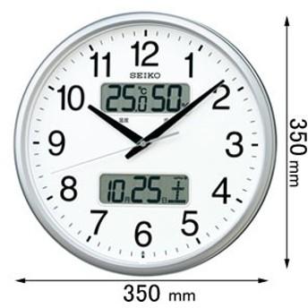 セイコークロック 電波掛け時計 KX235S[KX235S]【返品種別A】