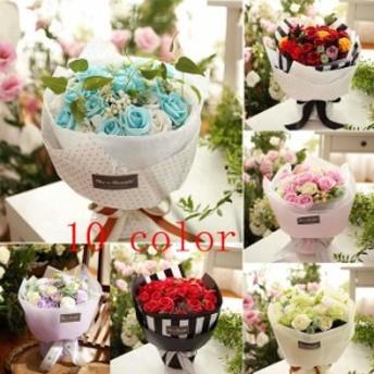 ソープ フラワー ギフト 造花 花束 贈り物 結婚祝い 母の日 誕生日プレゼント 誕生日プレゼント 女性 結婚祝い お花ブーケ 石鹸フラワー