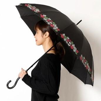シビラ(雑貨)(Sybilla)/長傘(手開き)【多間/骨が多い】花柄(レディース/婦人)