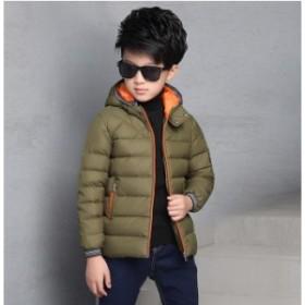 セール★冬用 男の子 子供服   ダウンコート 入学式 韓国スタイル★キッズ  ジャケット 帽子付き