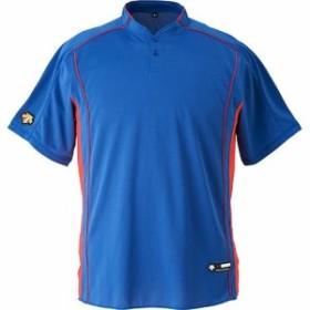 デサント(DESCENTE) ベースボールシャツ DB-109B ROY/ロイヤル 【野球 ベースボール トップス ユニフォームシャツ】