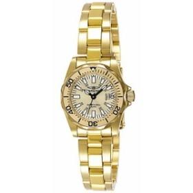 【当店1年保証】インヴィクタInvicta Women's 7065 Signature Collection Pro Diver Gold-Tone Watch