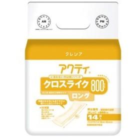 日本製紙クレシア アクティ パワー消臭パッド800ロング 14枚6P