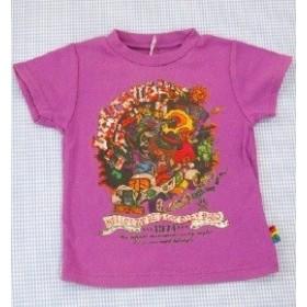 ブーフーウー BooFooWoo 半袖Tシャツ 90cm 男の子 女の子 キッズ 子供服