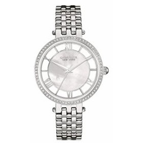 【当店1年保証】ブローバBulova Women's Quartz Watch with Stainless-Steel Strap, Silver, 14 (Model: