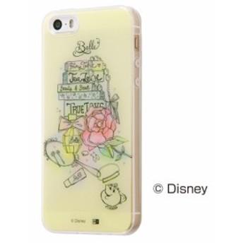 iPhone SE 5s 5 用 ディズニーキャラクター TPUケース + 背面パネル OTONA プリンセス / ベル11