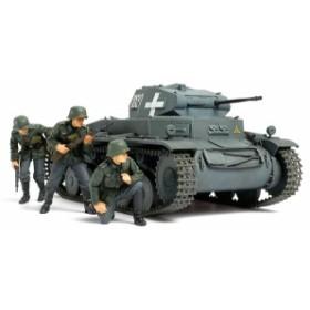 タミヤ 1/35 MM ドイツ II戦車C型(ポーランド戦線) (No.299)