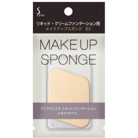 花王 ソフィーナ リッキド・クリームファンデーション用メイクアップスポンジ03
