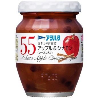 アヲハタ 55 アップル&シナモン 150g