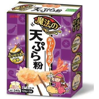 昭和産業 昭和 おいしく揚がる魔法の天ぷら粉 240g