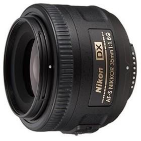 Nikon 単焦点レンズ AF-S DX NIKKOR 35mm f/1.8G ニコンDXフォーマット専用 中古 良品