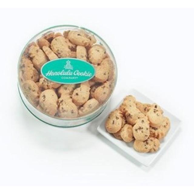 Chocolate Chip Mini Bites Round Container ホノルルクッキーカンパニー ハワイ土産 海外土産