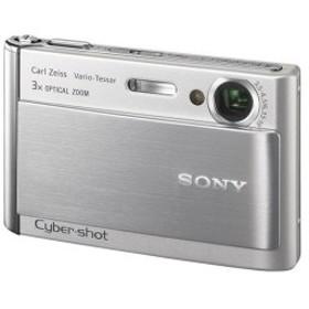 ソニー SONY デジタルカメラ サイバーショット T70 シルバー DSC-T70-S 中古 良品