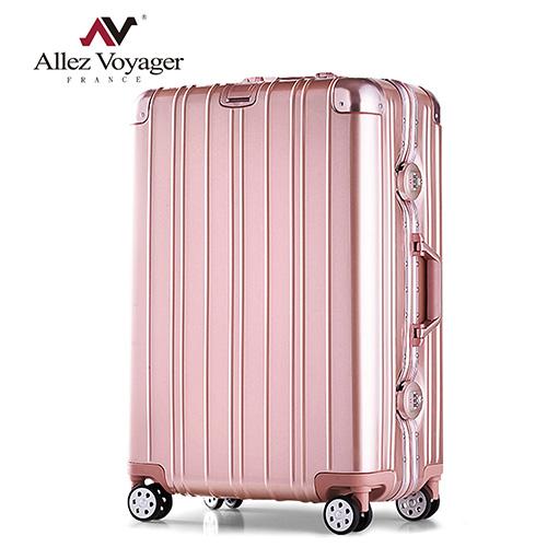 法國奧莉薇閣 26吋行李箱 PC金屬鋁框 旅行箱 無與倫比的美麗