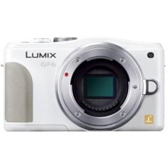 Panasonic ルミックス ミラーレス一眼カメラ ルミックス GF6 ボディ ホワイト DMC-GF6-W 中古 良品